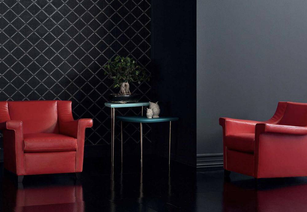 AC 17 Italian Designer Lounge Chair