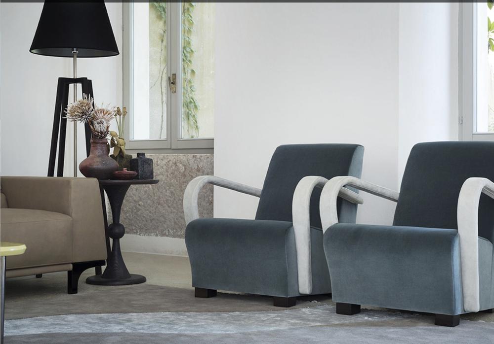 AMC 108 Italian Modern Lounge Chair