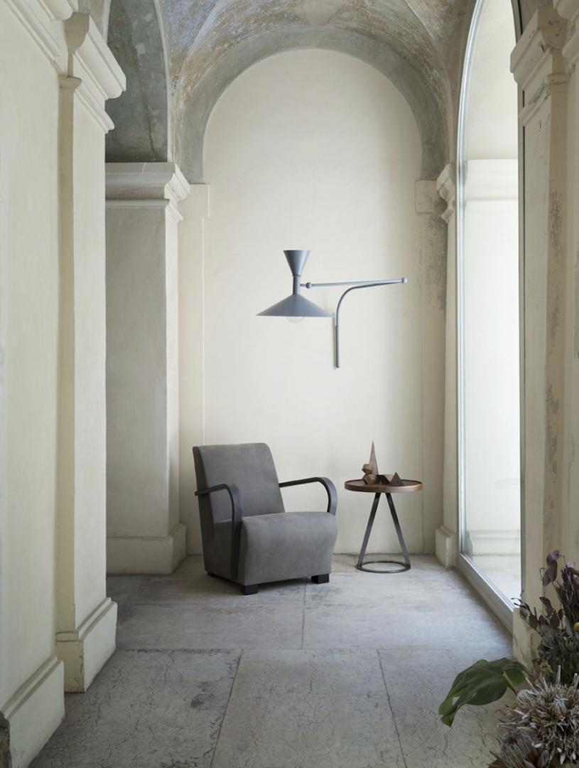 AMC 108  Italian Designer Lounge Chair