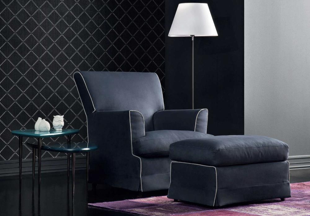 AC 48 Italian Designer Lounge Chair