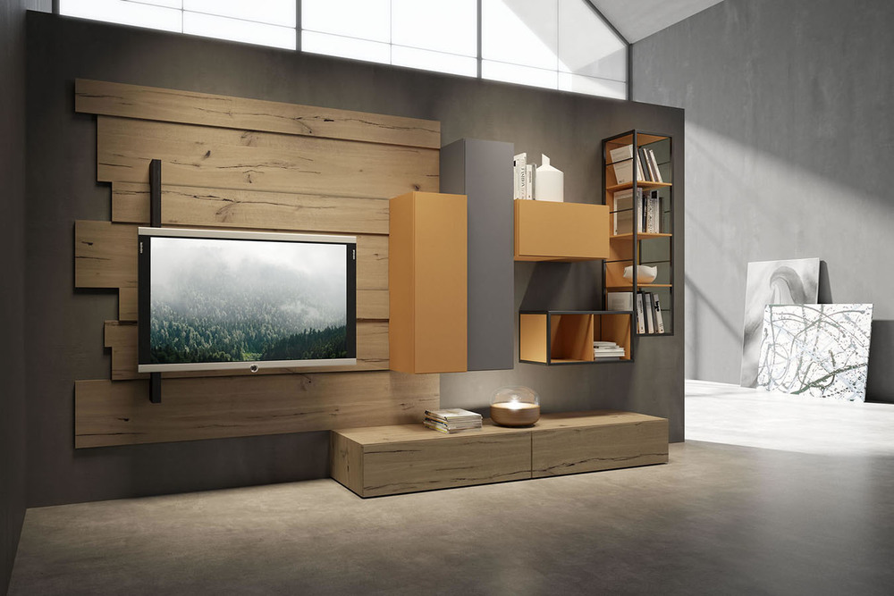 WU 103 Modern Wall Unit