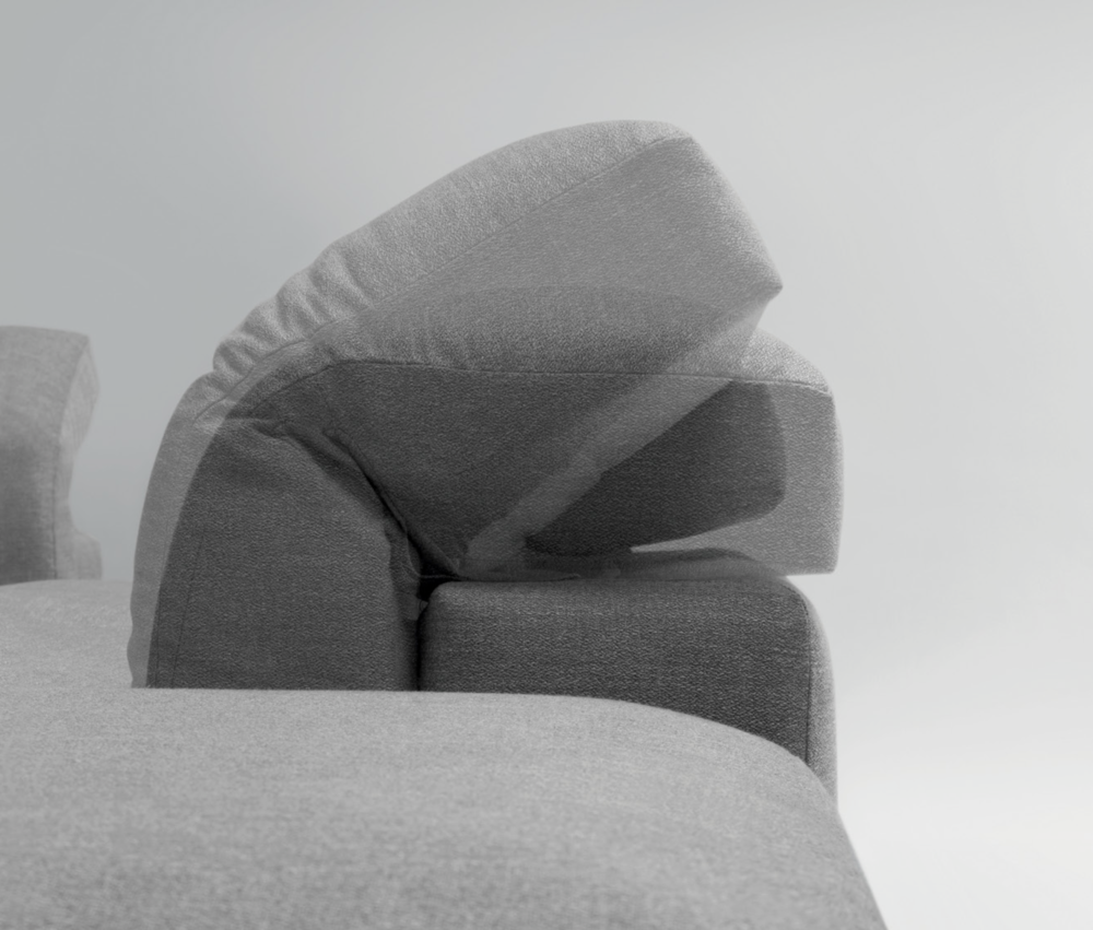 SCT 54 Modern Italian Sectional Sofa detail