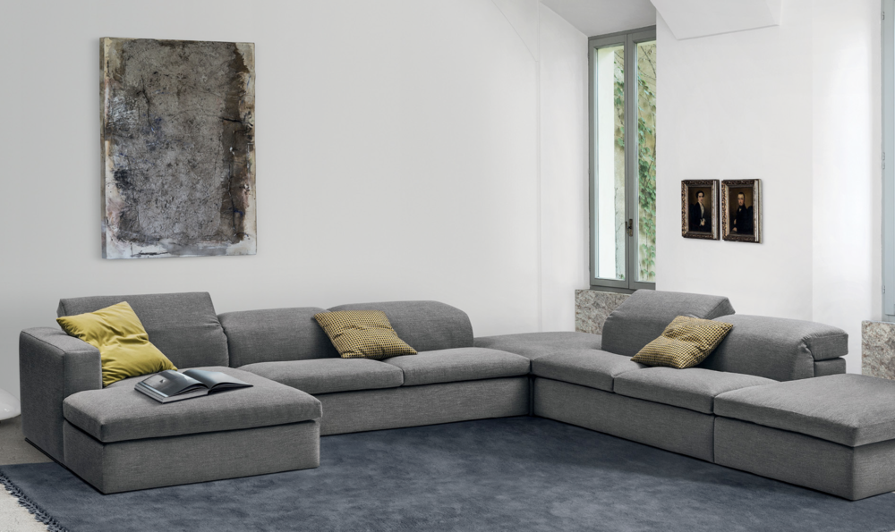 sct 54 italian modern sectional sofa - Modern Sectionals