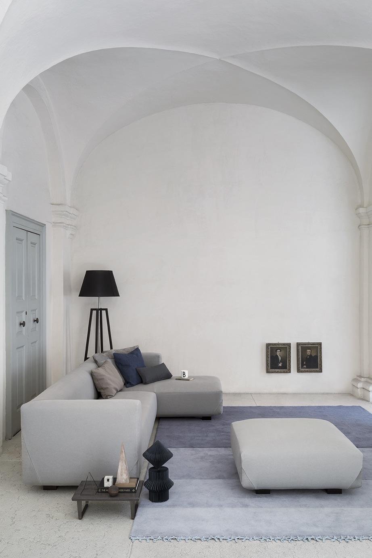 SCT 37 Italian Sectional Sofa
