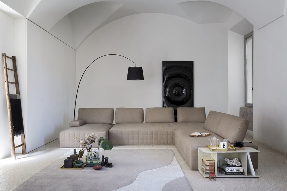 SCT 317 Italian Modern Sectional Sofa