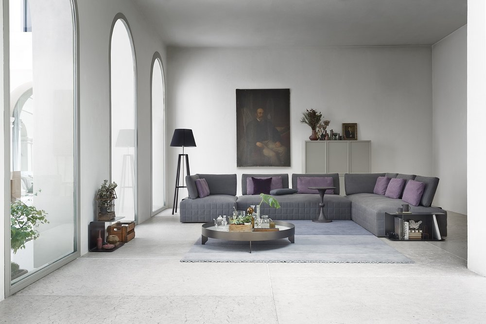 SCT 38 Italian Modern Sectional Sofa