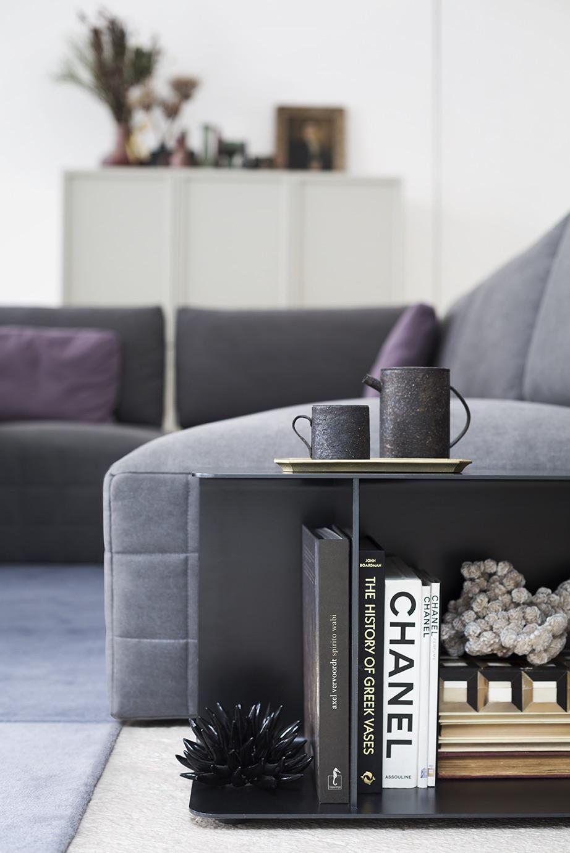 SCT 318 Italian Sectional Sofa detail