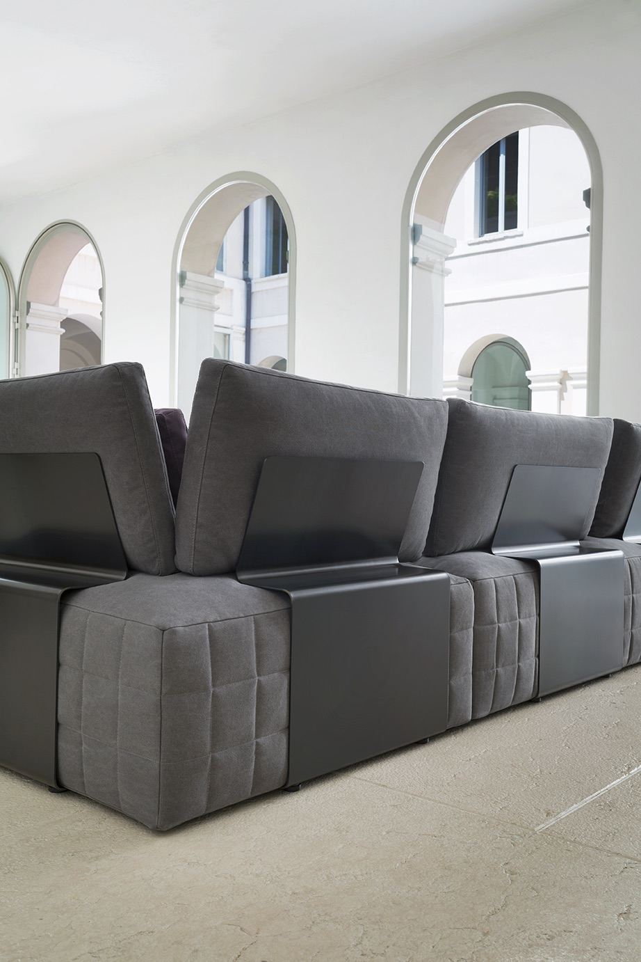 SCT 38 Italian Sectional Sofa detail