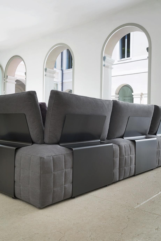 SCT 38 Italian Sectional Sofa detail