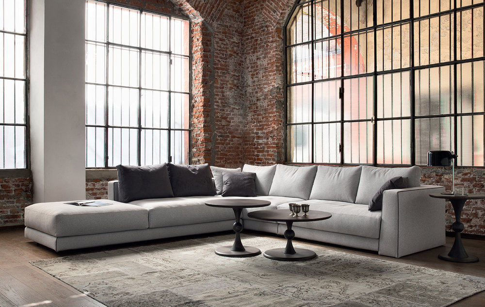 SCT 302 Italian Sectional Sofas