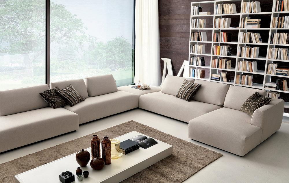 SCT 26 Italian Modern Sectional Sofa