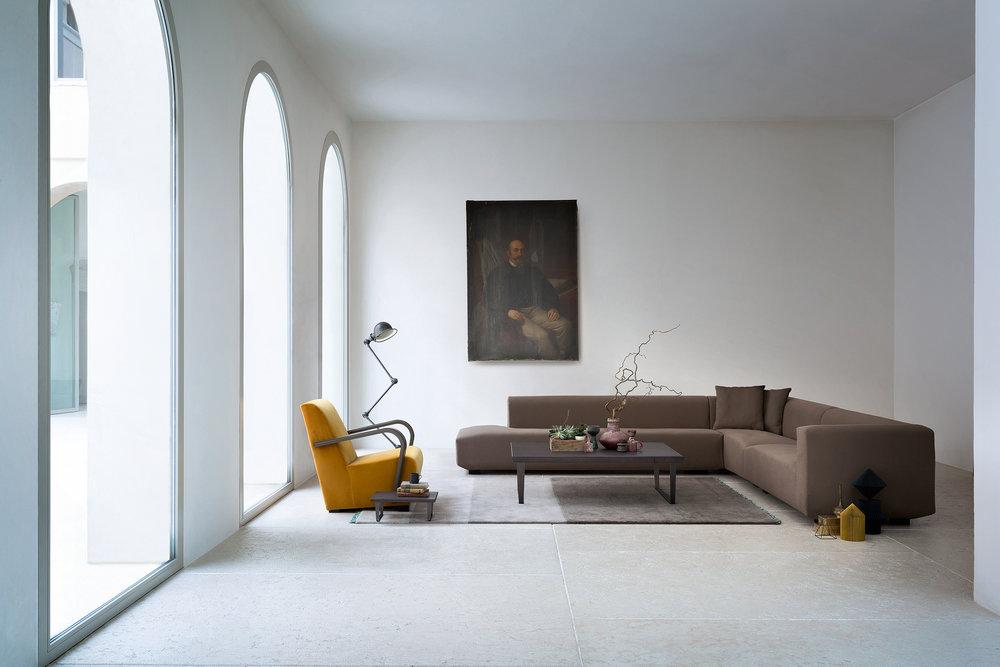 SCT 37 Modern Italian Sectional Sofa
