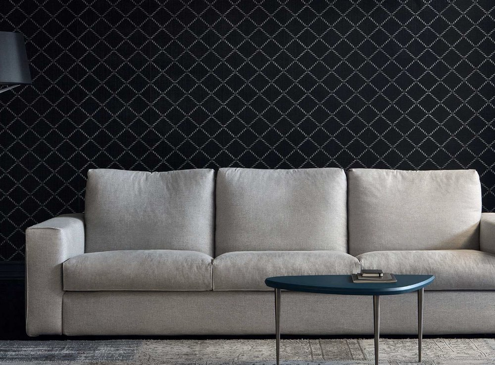Sectional Sofa With Different Elements To Create Personalized Modern  Compositions. The Back Cushions Can Be Equipped With Protective Covers  (optional)