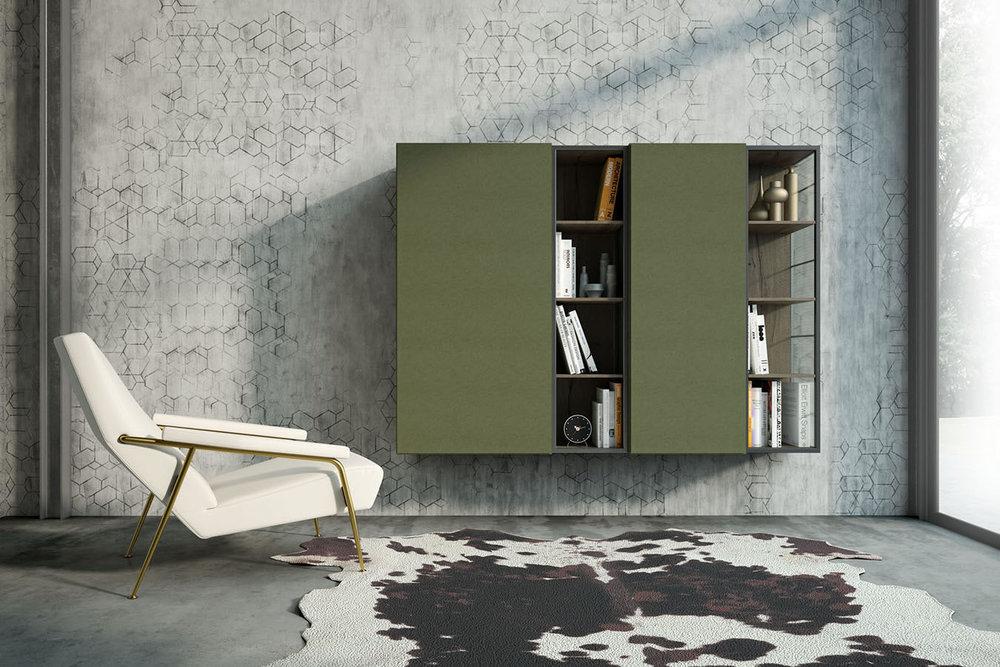 MR 02 Modern Wall Unit