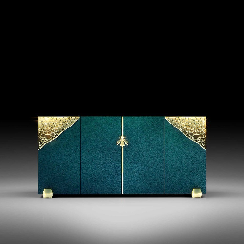 Demetra Italian Contemporary Sideboard