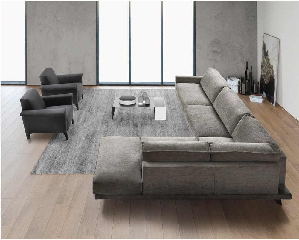 SCT 320 Italian Sectional Sofa