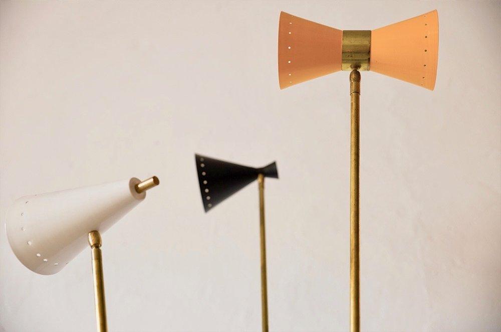 LM 10 Italian Mid-Century Style Floor Lamp