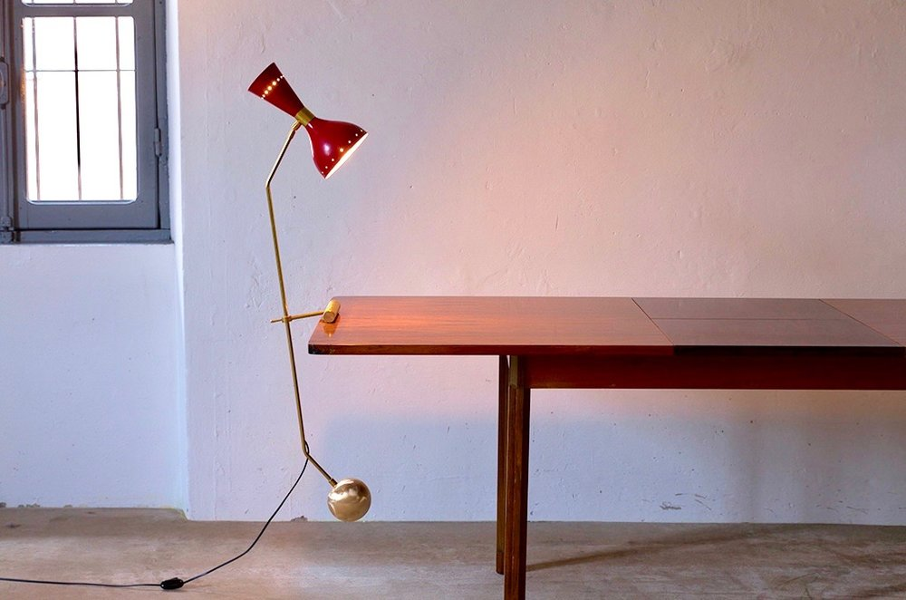 LM 11 Italian Mid-Century Style Table Lamp