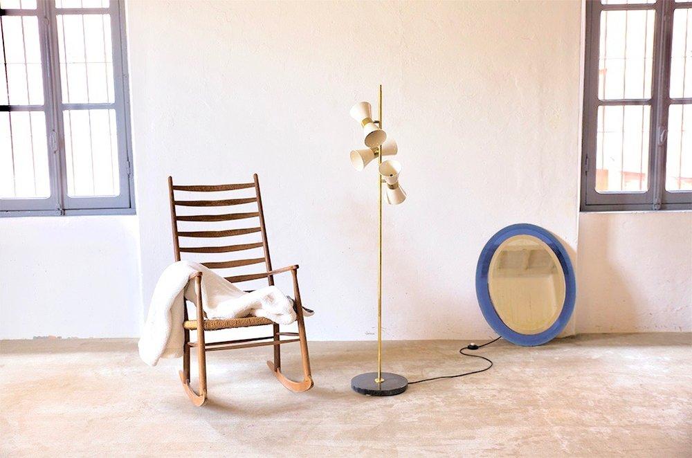 LM 08 Italian 1960s Stye Floor Lamp