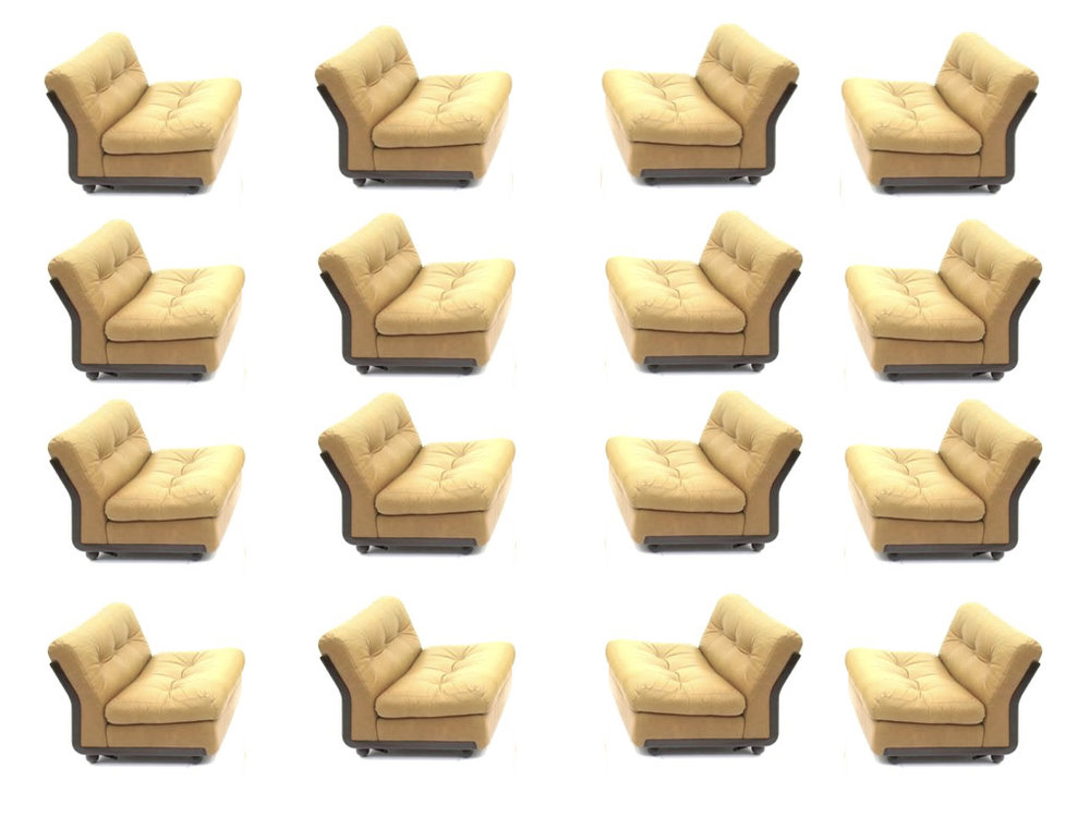 Mario Bellini 'Amanta' Lounge Chairs, B&B Italia