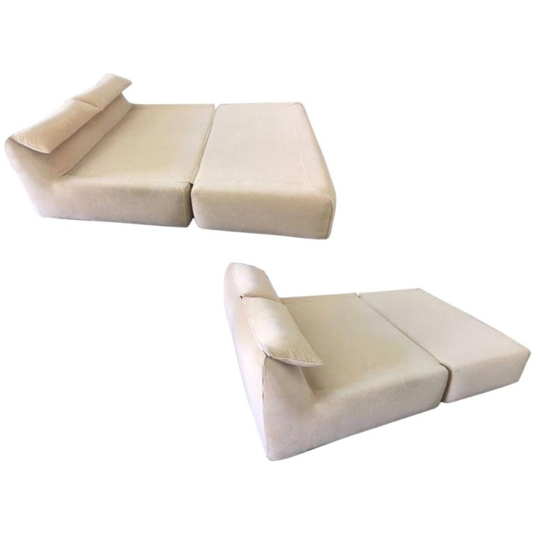 Mario Bellini 'Bamboletto' Lounge sofa bed