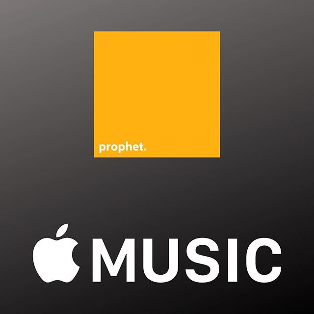 It's out.... kinda. For those of you Apple Music users, prophet is available for your listening pleasure. Link in bio. Now C'mon Spotify!