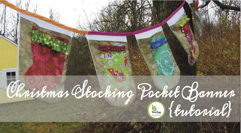 photo of Christmas Stocking Pocket banner