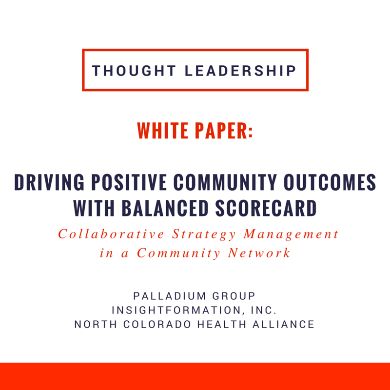 This piece examines the successful implementation of the Balanced Scorecard across a large network of partners seeking to drive positive community outcomes.