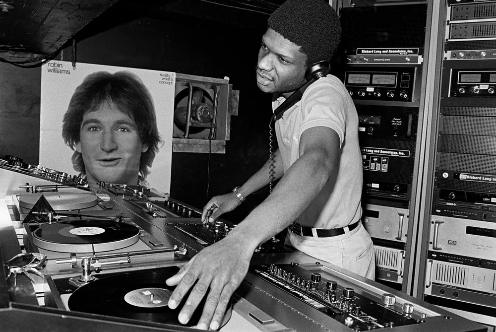 larry levan at paradise garage by bill bernstein