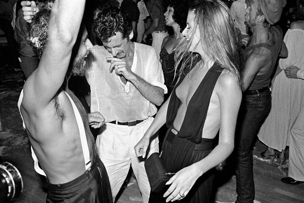 studio 54 dancers by bill bernstein