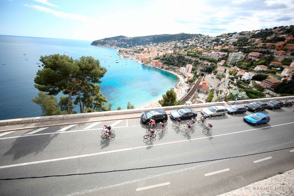 The Champagne & Oyster Cycling Club of Monaco   Amazing views    Find out more