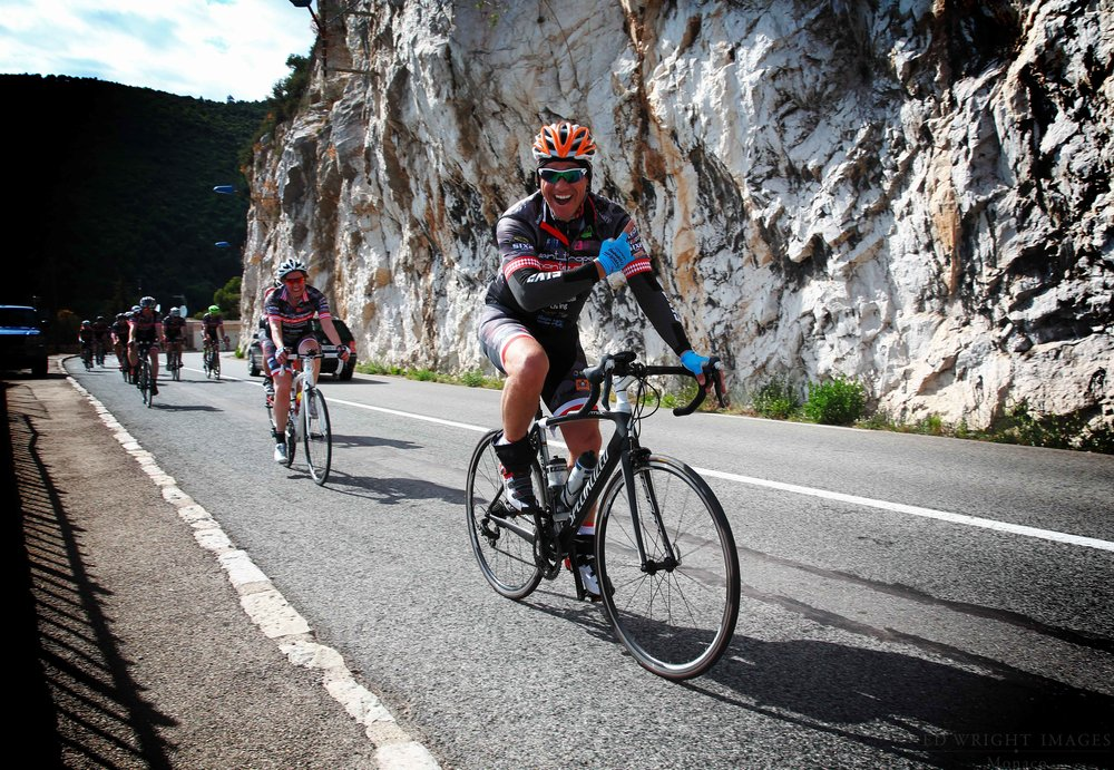 The Champagne & Oyster Cycling Club of Monaco   Great fun    Find out more