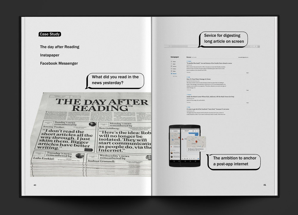 """UntitledNews"" / Editorial Design"