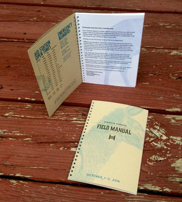 *From the 2016 Hennepin Hundred Field Manual, the race information book for  The Hennepin Hundred . Designed & produced by  Yellow Barn Design .