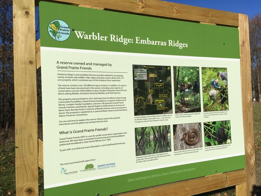 At Warbler Ridge, the trails are integral to the appreciation and protection of the preserve's ecology.