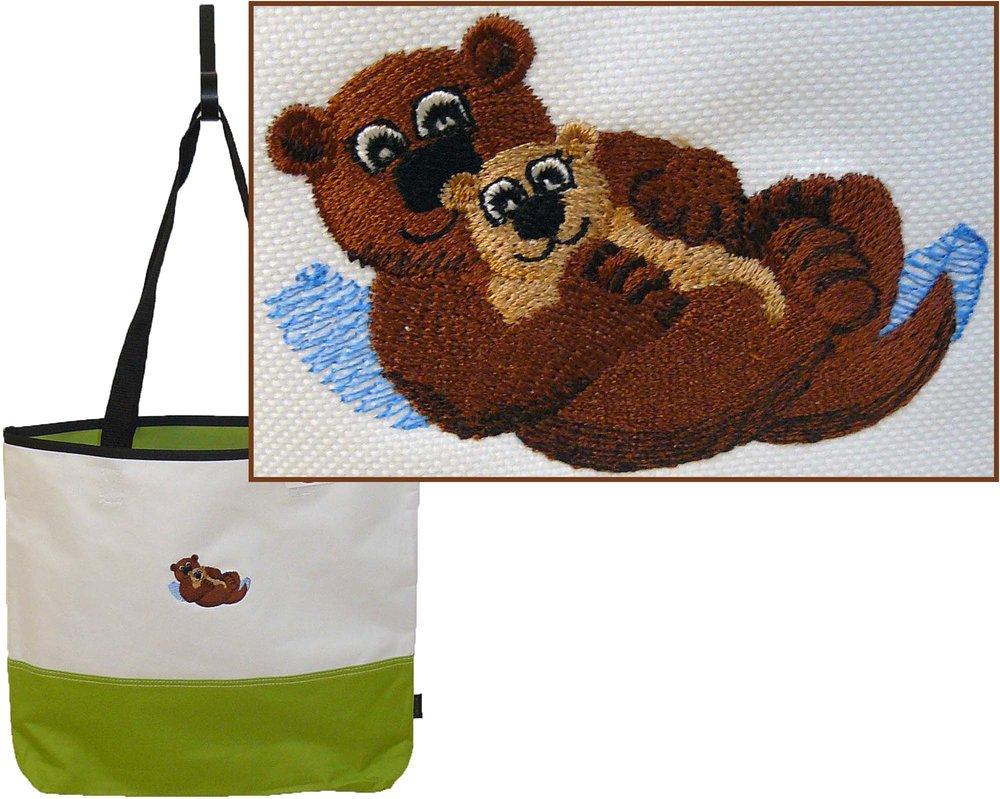 Otters Baby & Mom Gemline Tote Bag.jpg