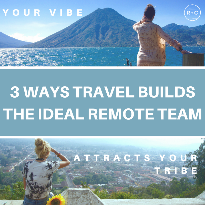 Attract and retain your ideal team with travel.