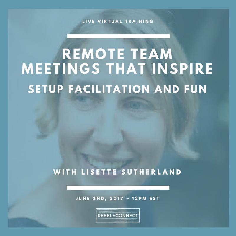 Lisette Sutherland Live Training Image