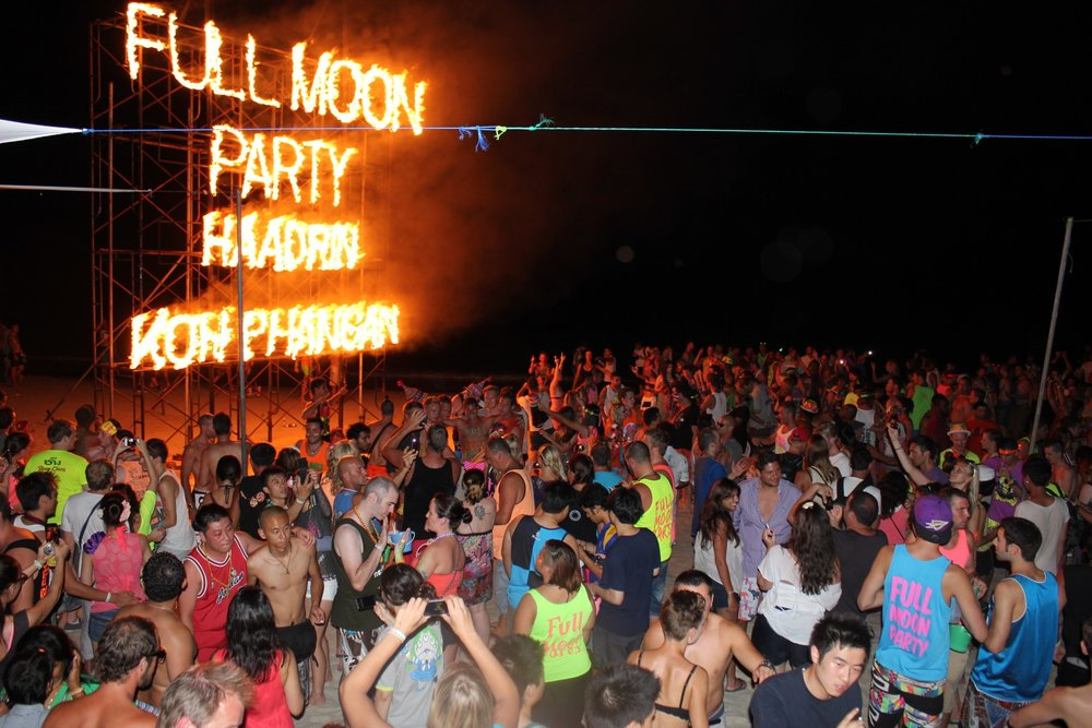 Full Moon Party Thailand Koh Phangan