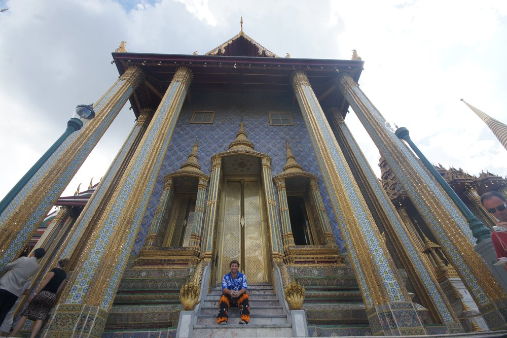 Visiting the Grand Palace and Temple of the Emerald Buddha Bangkok Thailand
