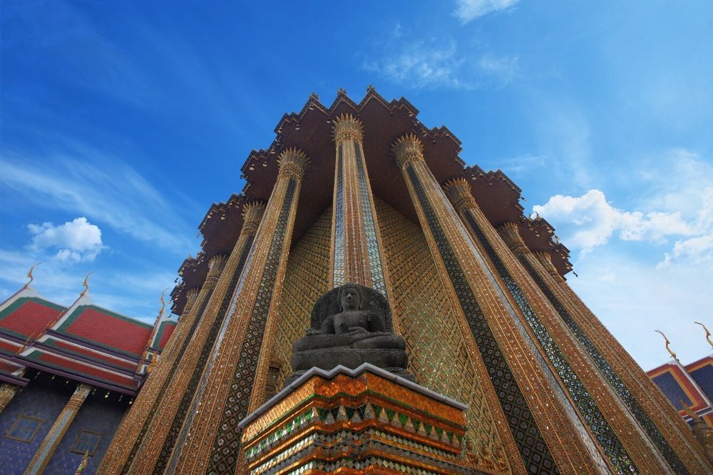 Temple of the Emerald Buddha Wat Phra Kaew Bangkok Thailand