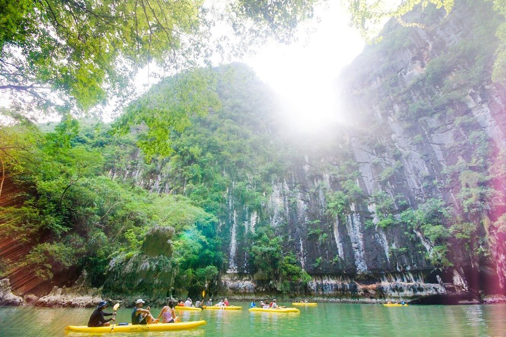 Phang Nga Bay on John Gray's Sea Canoe Tour Hong by Starlight