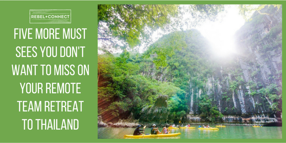 Don't miss these tips for your team retreat in Thailand.
