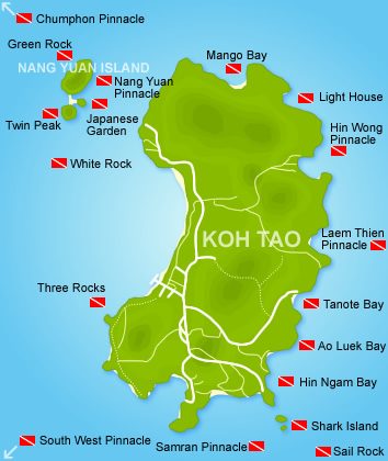 Koh tao dive sites thailand