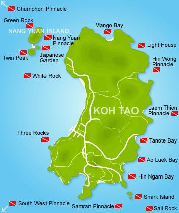 Koh tao dive sites thailand