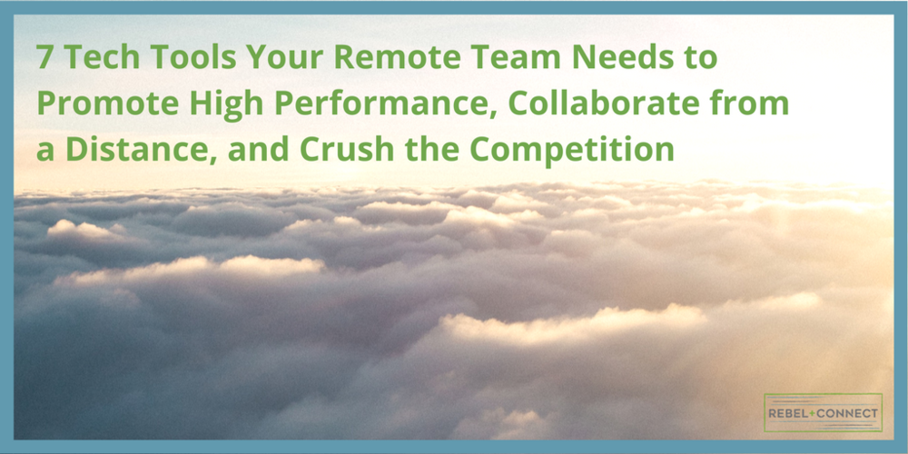 Effective Remote teams start with the right tech for high performance and collaboration.