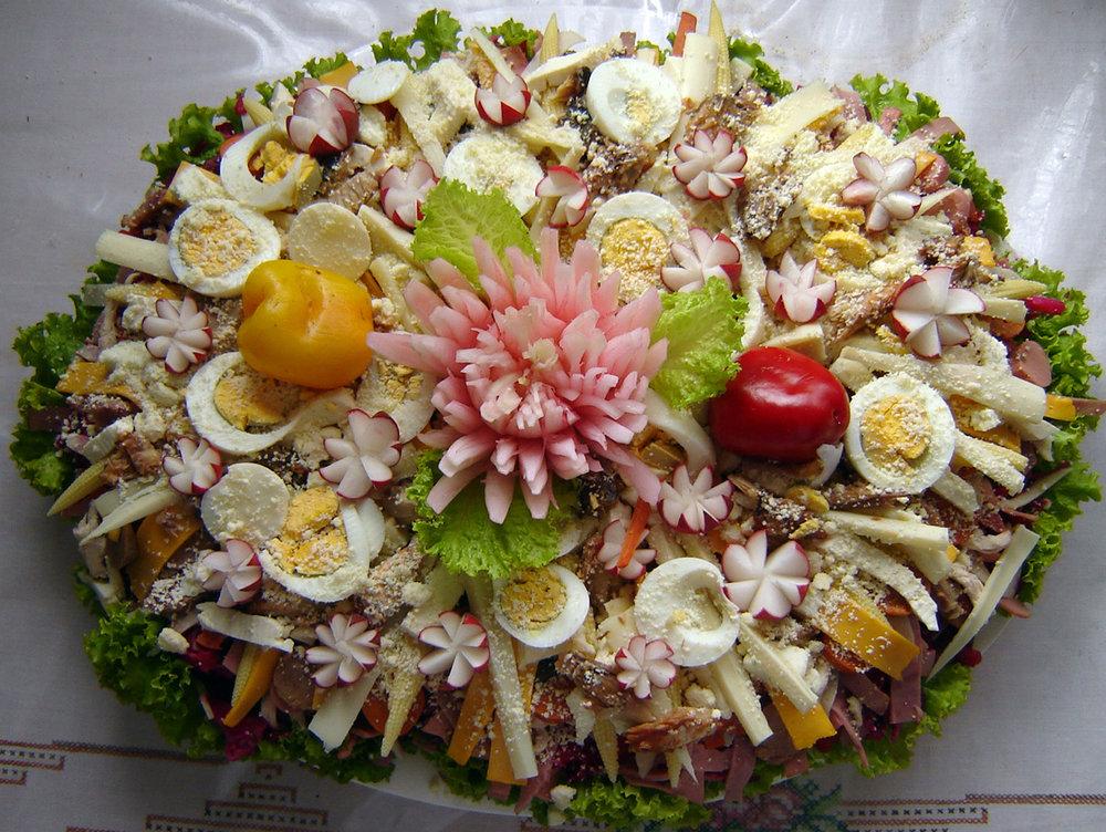 Fiambre Traditional Guatemalan Food Dish