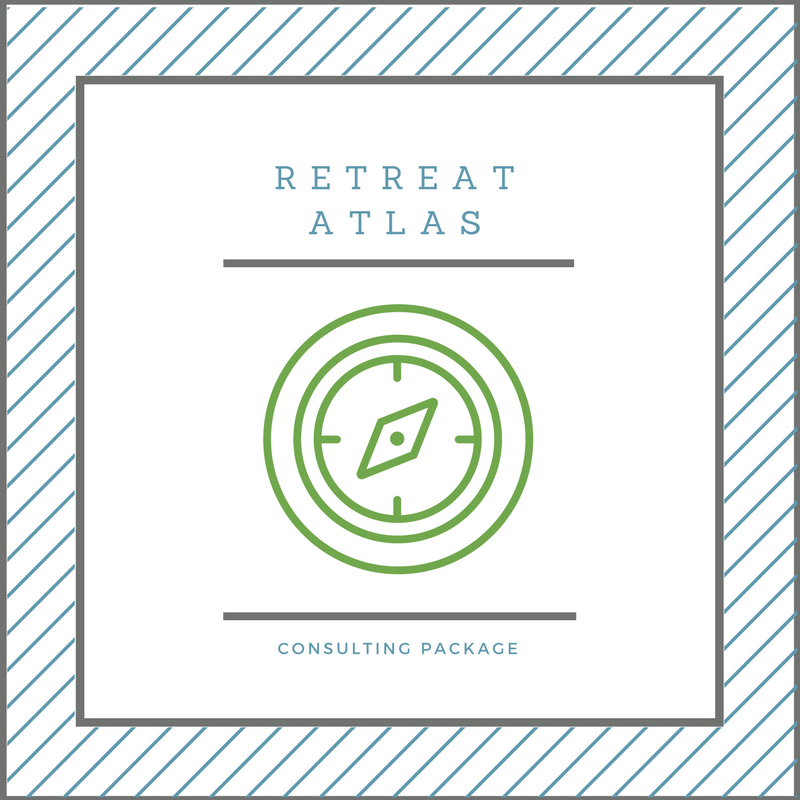 Consulting service for retreat planning designed for remote leaders and their teams.