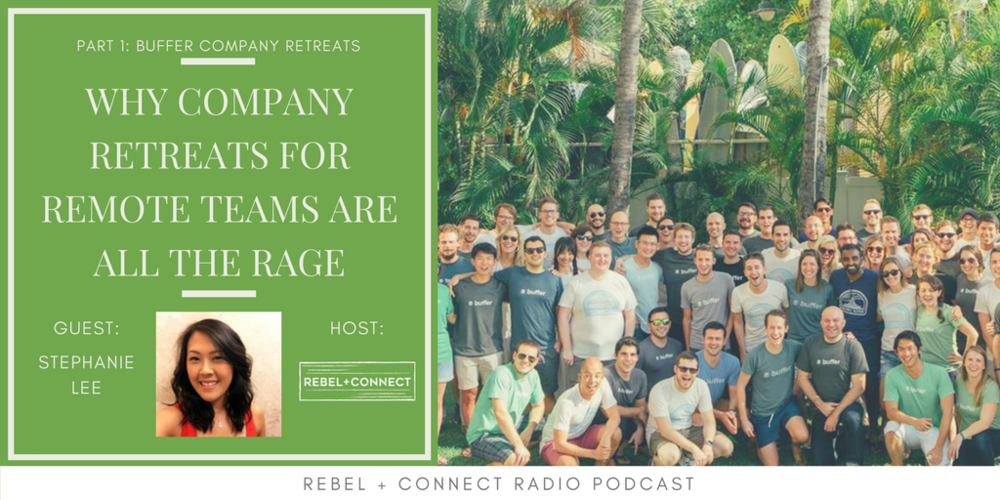 Company Retreats Buffer Remote Teams