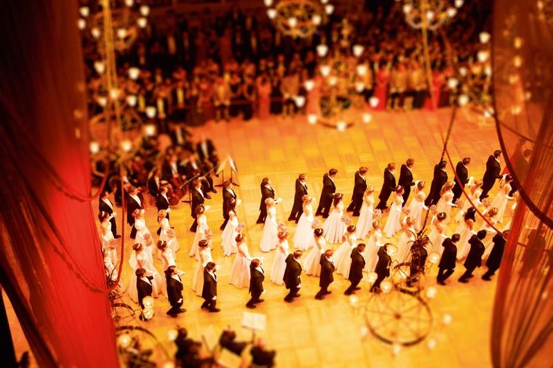Opera Ball at the Vienna State Opera Company Retreat